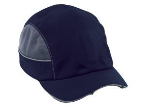 8960  Navy-Short Brim LED Bump Cap