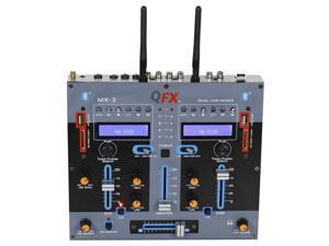 QFX - MX-3 - QFX MX-3 2-Channel MX-3 Professional Mixer
