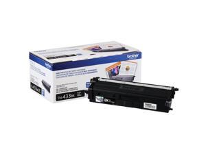 Brother International - TN433BK - Brother TN433BK Original Toner Cartridge - Black - Laser - High Yield - 4500 Pages - 1