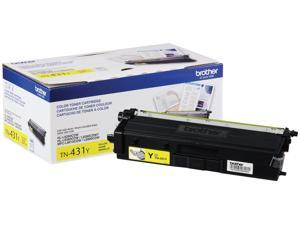 Brother International - TN431Y - Brother TN431Y Original Toner Cartridge - Yellow - Laser - Standard Yield - 1800 Pages