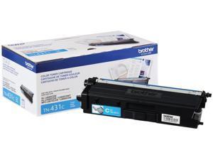 Brother International - TN431C - Brother TN431C Original Toner Cartridge - Cyan - Laser - Standard Yield - 1800 Pages -
