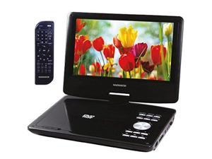 MAGNAVOX MTFT713 Portable DVD / CD Player with USB / SD Card Slot, Remote and Car Adapter Rechargeable Battery