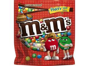 Mars SN38887 M&M'S Peanut Butter Chocolate Candy Party Size 38-Ounce Bag