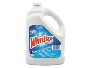 Windex 682252 Powerized Formula Glass & Surface Cleaner, 1Gal Bottle, 4/Carton