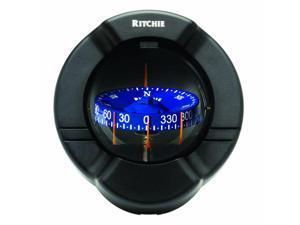 Ritchie SS-PR2 SuperSport Powerboat Compass - Bulkhead Mount - Black