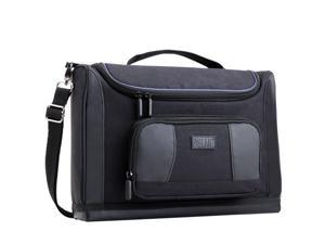 USA Gear Large Professional Portable Projector Carrying Case and Travel Bag -Works For PG65U / HP AX325AA Notebook  / Favi RioHD / AAXA P300, P4X Pico / Optoma W304M and More Small Travel Projectors