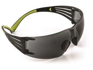 3M 66212 Secure Fit SF402AF Gray lens with green accents