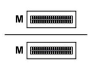 Lenovo 00MP520 Mellanox - Infiniband Cable - Qsfp28 To Qsfp28 - 2.5 Ft - For P/N: 0724017, 0724020, 0724021, 072403X, 072404X, 072415X, 072416X
