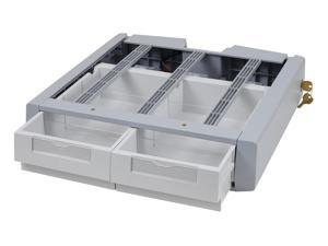 Ergotron 97-983 Sv43/44 Supplemental Double Drawer.Attaches Under A Carts Primary Drawe