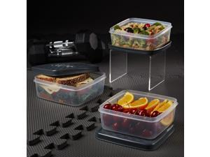 Medport 944FFJXCONTSET1 Jaxx Leak-Proof Meal Prep Container Set