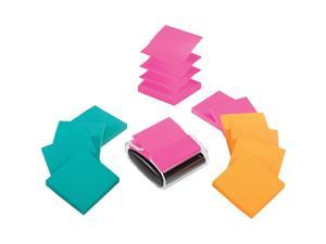 "3M R33012WDVA Post-it Pop-up Notes Super Sticky Pop-up Dispenser Value Pack, 3"" x 3"", 12/Pack"