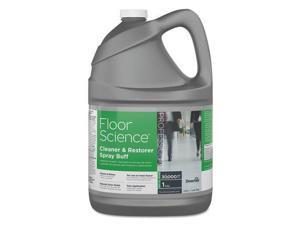 Diversey CBD540458EA Floor Science Cleaner & Restorer Spray Buff, Citrus Scent, 1 Gal Bottle