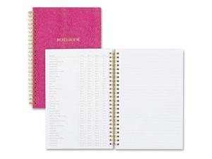 "Blue Sky BLS100631 Notebook, Ruled, 5.75"" x 8.5"", 80 Pages, Berry"