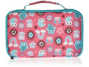 Fit & Fresh 841JL405 Bento Lunch Box Set with Insulated Carry Bag - Rainbow Owl