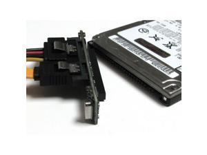 """CoolGear 2.5"""" 44 Pin IDE to SATA Hard Drive Adapter For Laptop Drives"""