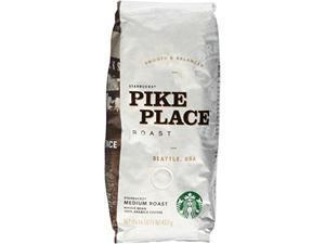 Whole Bean Coffee, Pike Place Roast, 1 lb Bag 11017854