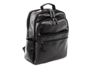 "Swiss Mobility Black Valais Backpack, Holds Laptops 15.6"", 5.5"" X 5.5"" X 16.5"" Model BKP116SMBK"