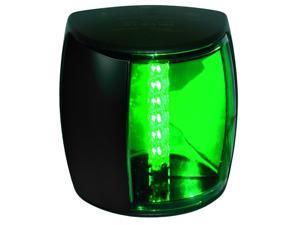 HELLA Nav Light LED Pro, Stbd-Grn, 2nm, Black,
