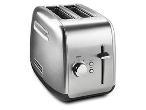 KitchenAid 2 Slice Metal Toaster Manual Lift KMT2115SX