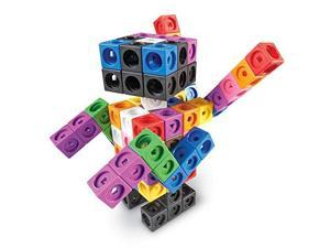 Learning Resources LER9291 MathLink Cubes Big Builders