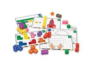 Learning Resources LER4286 MathLink Cubes Early Math Activity Set