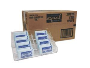 Equal 20021261 Zero Calorie Sweetener, 0.035 oz Packet, 2000/Carton
