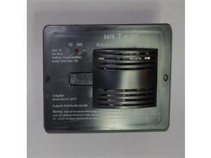 Safe-T-Alert 70-742 CO/LP Alarm, Flush Mount, 12V, BLACK
