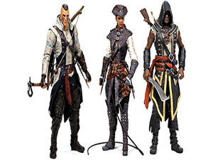 McFarlane Toys Action Figure - Assassins Creed Series 2 - SET OF 3
