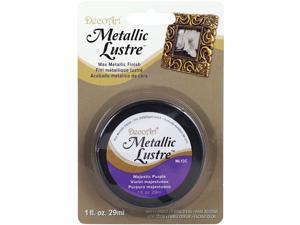 Metallic Lustre Wax Finish 1oz-Majestic Purple