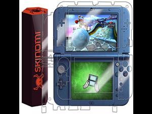 Nintendo 3DS XL Screen Protector + Full Body (Nintendo 3DS LL,2015), Skinomi® TechSkin Full Coverage Skin + Screen Protector for Nintendo 3DS XL Front & Back Clear HD Film