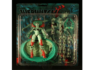 WEBWITCH * GREEN VARIANT * Avatar Press 7 Inch RENDITION 1998 Action Figure & Accessories