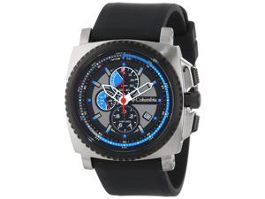 Columbia AQ Alti Analog Water Resistant Black Silicone Strap Watch - CA100-003