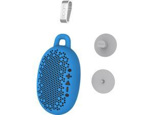 Boom Urchin Portable Bluetooth Waterproof Speaker w/ Silicone Skin Cover - Blue