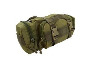 Every Day Carry TC15 Nylon Deployment Bag w/ Molle Straps - OD Green