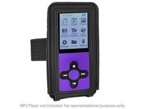 Eclipse MP3 MP4 Music Player Adjustable Armband - Black