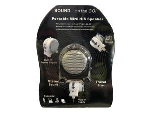 Pony Portable Mini Hifi Rechargeable Speaker with Extra Bass Sound MP3 Player - Black