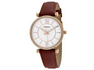 Fossil Women's Carlie Watch Quartz Mineral Crystal ES4428