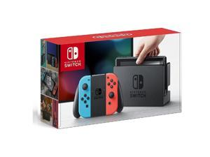 Nintendo Switch Console System 32GB with Neon Blue and Red Joy-Con Wireless Controllers