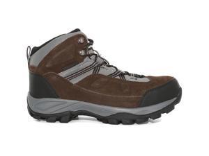 Magnum Men's Bridgeport Waterproof Steel Toe Boots, Chocolate / Charcoal, 9