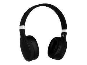 Bluetooth Deep Bass Over-Ear Hi-Fi Wireless Headphones w/ Built-In Mic, Black