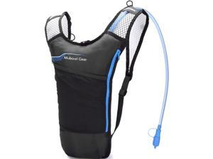 Lightweight BPA Free Thermal Insulated Hydration Backpack with 2L Bladder, Blue