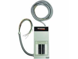 Generac RTG16EZA1 100 Amp 16-Circuit 120/240V Single Phase Pre-Wired Automatic Transfer Switch with Built-In Load Center