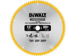 DW3128P5D80I Series 20 12 in. 80 Tooth Saw Blade (2-Pack)