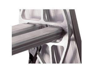 WERNER D1540-2 40ft Extension Ladder, Aluminum, Type IA