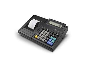 Royal 100Cx Portable Battery/AC Powered Cash Register (82175Q) - Black