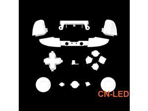 WPS Matte White ABXY Dpad Triggers Full Buttons Set Mod Kits for Newest Xbox One Slim/Xbox one S Controller with Screwdriver (Torx T6 T8) Set  for 1708 version