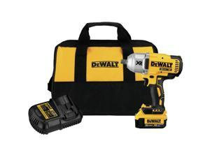 Dewalt DCF899M1 20V MAX XR Cordless Lithium-Ion 1/2 in. Brushless High-Torque Impact Wrench w/ Detent Pin Anvil