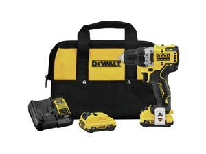 Dewalt DCD701F2 XTREME 12V MAX Brushless Lithium-Ion 3/8 in. Cordless Drill Driver Kit (2 Ah)
