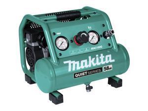 Makita MAC100Q Quiet Series 1/2 HP 1 Gallon Oil-Free Hand Carry Air Compressor