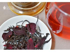 Rose Assam Black tea set (loose tea 50gx4boxes)